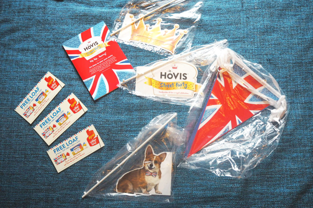 Hovis Queens 90th Party Pack