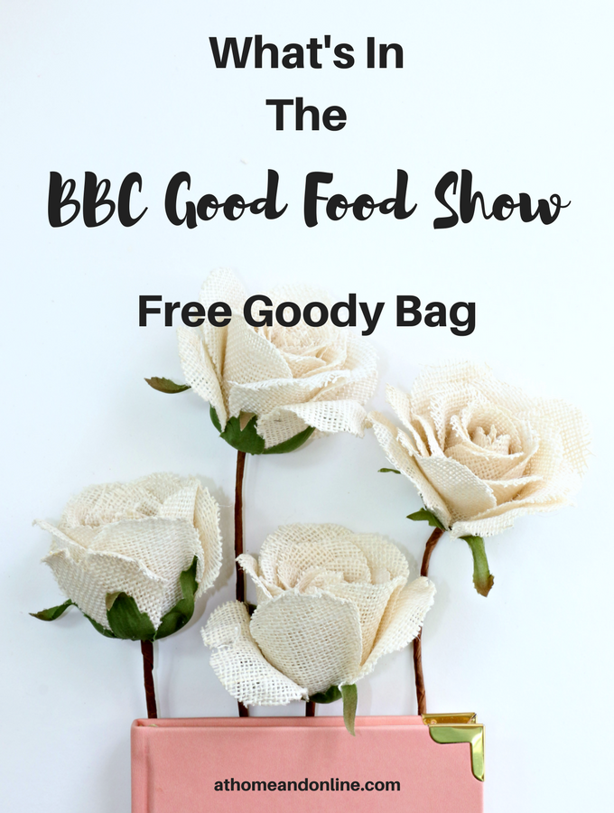 bbc good food show goody bag