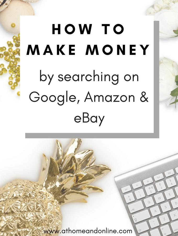 How To Make Money From Your Online Searches