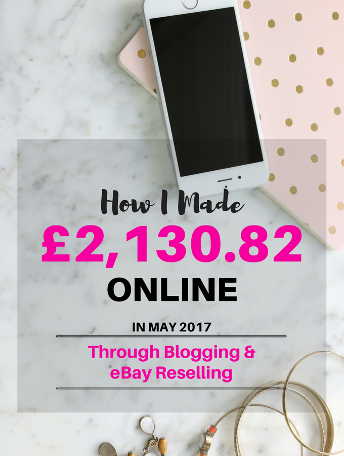 May 2017 Online Income Report
