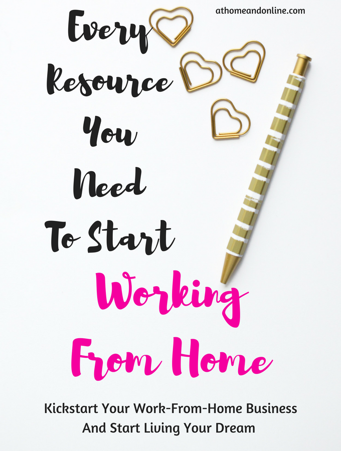 Every Resource You Need To Help You Work From Home