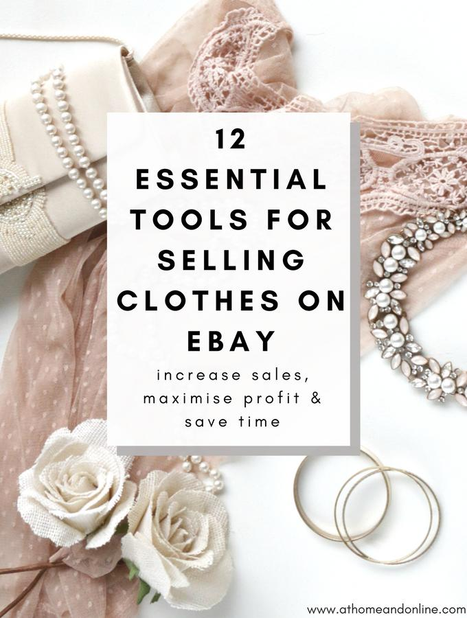 12 Essential Tools For Selling Clothes On eBay
