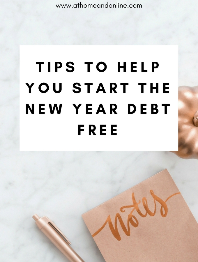 Tips For Starting The New Year Debt Free